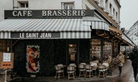 cafe in Paris soundscape