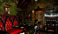 this pub ambience was made to go with the Translyvanian Crossroads Inn
